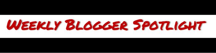 Blogger spotlight banner