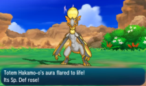 Totem Hakamo-o's special ability