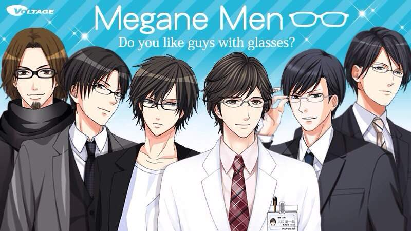 My Top Five Favorite Megane Men- Voltage Inc Edition