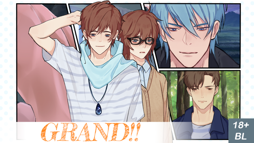 Let's Show Our Support for Grand an 18+ BL Visual Novel!!