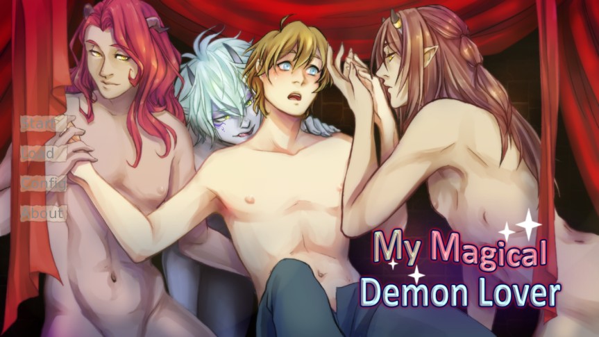 Let's Show Our Support for My Magical Demon Lover: A BL Dating Sim