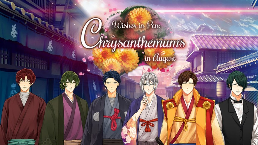 Wishes in Pen: Chrysanthemums in August DemoReview