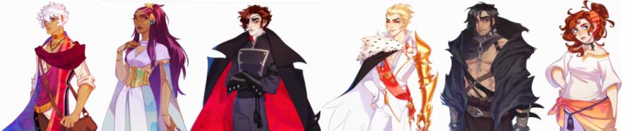 Arcana characters