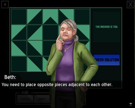 Exit Corners Game 2
