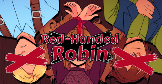 Red Handed Robin