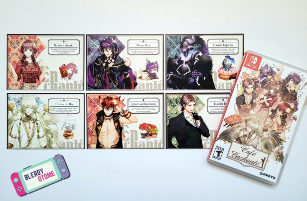 Cafe Enchante Unboxing - Blerdy Otome