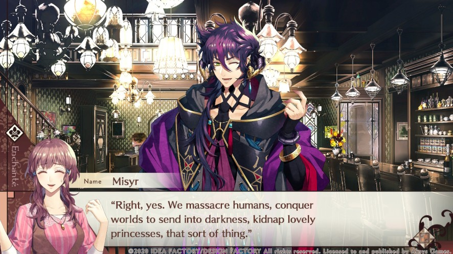 Cafe Enchante Review Misyr - Blerdy Otome
